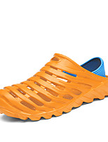 cheap -Men's Shoes EVA Summer Fall Moccasin Comfort Slippers & Flip-Flops Upstream Shoes Water Shoes Hollow-out for Casual Outdoor Black Orange
