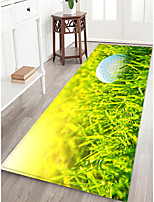 cheap -Doormats / Area Rugs Sports & Outdoors / Casual Flannelette, Rectangle Superior Quality Rug