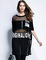 cheap -YHSP Women's Basic / Street chic A Line Dress Print