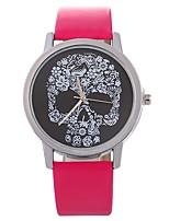 Недорогие -Жен. Нарядные часы Китайский Секундомер / Повседневные часы PU Группа Творчество / Мода Черный / Белый / Красный