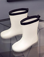 cheap -Girls' Shoes PVC Leather Summer Rain Boots Boots for White