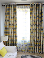 cheap -Two Panel European Style Printed Blackout Curtains Living Room Bedroom Dining Room Children's Room Curtains