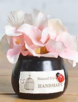 abordables -Fleurs artificielles 1 Une succursale Rustique Lis Fleur de Table