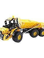 cheap -YIJIATOYS Building Blocks 412pcs Holiday / Vehicles / Fashion Construction Truck Set / Backhoe Loader / Dozer All Gift