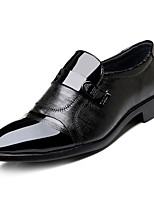 cheap -Men's Shoes Nappa Leather Spring Summer Comfort Oxfords for Outdoor Black