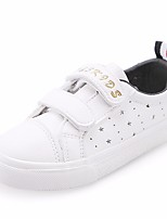 cheap -Girls' Shoes PU Summer Comfort Sneakers for Pink / White / Black / White / White / Silver
