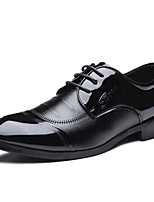 cheap -Men's PU(Polyurethane) Spring Comfort Oxfords Black
