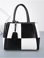 cheap -Women's Bags PU Tote Zipper for Event / Party Black / Red / Fuchsia