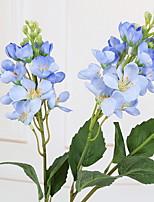 Недорогие -Искусственные Цветы 1 Филиал Деревня Гиацинт Букеты на пол