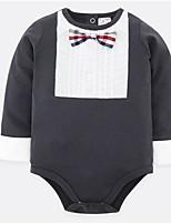 preiswerte -Baby Unisex Einfarbig Langarm Einzelteil