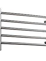 abordables -Set d'Accessoires de Salle de Bain / Barre porte-serviette / Crochet à Peignoir Design nouveau / Multicouche / Cool Traditionnel / Moderne