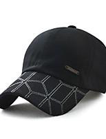 cheap -Men's Vintage Active Basic Cotton Baseball Cap - Striped