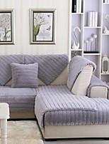 baratos -Cobertura de Sofa Sólido Impressão Reactiva Poliéster Capas de Sofa