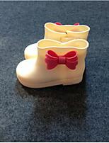 Недорогие -Девочки Обувь Кожа ПВХ  Весна лето Резиновые сапоги Ботинки для Желтый / Синий / Винный