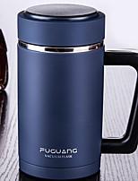 abordables -Drinkware Acier Inoxydable / PP+ABS Vacuum Cup Retenant la chaleur 1pcs