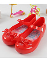 cheap -Girls' Shoes PVC Summer Comfort Sandals for Black / Red / Almond