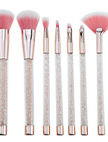 cheap -7 pcs Makeup Brushes Professional Makeup Brush Set Nylon fiber Eco-friendly / Soft / Color Gradient Plastic