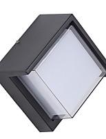 Недорогие -Матовая Простой Настенные светильники Спальня / На открытом воздухе Алюминий настенный светильник 12W