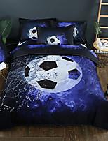 preiswerte -Bettbezug-Sets 3D Polyester / Baumwolle Reaktivdruck Andere