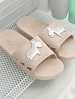cheap -Men's Slippers Slippers Ordinary / Casual PVC solid color