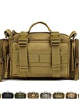 cheap -10L Sling & Messenger Bag / Waist / Fanny Bag - Rain-Proof, Wearable Hiking, Camping, Military Oxford Cloth, Nylon Brown, Army Green,