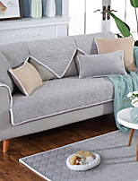baratos -Cobertura de Sofa Sólido Acolchoado Poliéster / Algodão Capas de Sofa