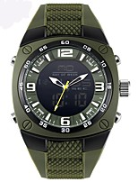 cheap -Men's Quartz Sport Watch Water Resistant / Water Proof Alloy Band Casual Green Grey