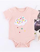cheap -Baby Unisex Geometric / Patchwork Short sleeves Bodysuit
