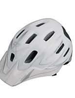 abordables -GUB® Adultos Casco de bicicleta 18 Ventoleras CE / CPSC Certificación Resistente a Golpes, Ajustable, Visera extraíble EPS, ordenador personal Ciclismo / Bicicleta - Gris+Blanco / Negro / Rojo