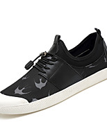 cheap -Men's Shoes PU Summer Comfort Sneakers Black / White / Black / Red