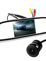 cheap -ZIQIAO 5inch TFT-LCD CCD Wired 170 Degree Car Rear View Kit Foldable / Waterproof for Car