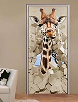 baratos -Autocolantes de Parede Decorativos - Autocolantes 3D para Parede Paisagem / Animais Quarto de Estudo / Escritório / Quarto das Crianças