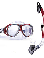 cheap -WAVE Diving Package / Snorkeling Set - Snorkel, Diving Mask - Antifog, Soft Snorkeling, Diving, Swimming PVC (Polyvinylchlorid), Silicone
