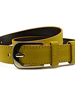 cheap -Women's Basic Skinny Belt - Solid Colored