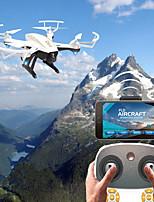 abordables -RC Drone F20G&F20W BNF 4 Canaux 6 Axes 2.4G Avec Caméra HD 2.0MP 720P Quadri rotor RC FPV / Retour Automatique / Mode Sans Tête Quadri