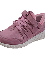 cheap -Boys' / Girls' Shoes Tulle / Pigskin Spring & Summer Comfort Sneakers for Gray / Purple / Pink