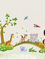cheap -Decorative Wall Stickers / Fridge Stickers - Plane Wall Stickers / 3D Wall Stickers Landscape / 3D Nursery / Kids Room