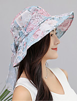 cheap -Women's Sun Hat - Floral Bow