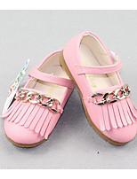 Недорогие -Девочки Обувь Полиуретан Весна Удобная обувь / Детская праздничная обувь На плокой подошве для Белый / Желтый / Розовый