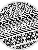 abordables -Qualité supérieure Drap de plage, Géométrique 100 % Polyester 1 pcs