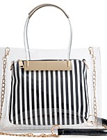 preiswerte -Damen Taschen PVC Bag Set 2 Stück Geldbörse Set Reißverschluss für Formal Blau / Schwarz / Rote