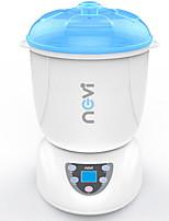 Недорогие -nevi паровой стерилизатор пищевое молоко грелка сушилка обогреватель 6 * бутылки 9mins многофункциональный pp материал цифровой дисплей anti-burn 40