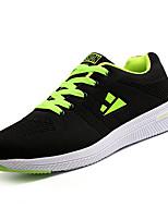 economico -Per uomo Scarpe Tulle / PU (Poliuretano) Autunno Comoda Sneakers Blu scuro / Bianco / nero / Nero / verde