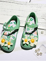 preiswerte -Mädchen Jungen Schuhe PVC Sommer Komfort Sandalen für Draussen Weiß Pfirsich Grün Blau