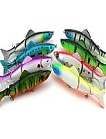 economico -8pcs pc Esca Esche rigide Plastica Pesca di mare / Pesca a mosca / Pesca a mulinello