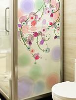 economico -Pellicola per finestre e adesivi Decorazione Moderno Fantasia floreale PVC Adesivo per finestre / Opaco