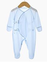 preiswerte -Baby Unisex Solide Langarm Einzelteil
