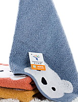 Недорогие -Высшее качество Полотенца для мытья, Простой / Мультипликация Полиэстер / Хлопок Ванная комната