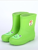 cheap -Girls' Shoes PVC Leather Spring & Summer Rain Boots Boots for Red / Green / Blue