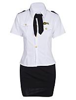 abordables -Costumes / Uniformes & Tenues Chinoises / Nuisette & Culottes Vêtement de nuit Femme - Dentelle, Couleur Pleine